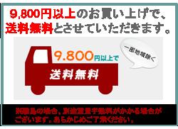 9800円以上で送料無料